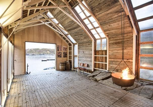 TYIN Tegnestue's Boathouse in Norway