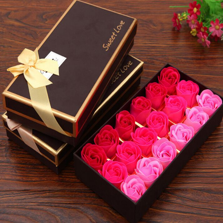 >> Click to Buy << 1 Set 18 Flower Rose Soap Romantic Wedding Favor Shower Home Party Christmas Birthday Valentine's Day Gifts  #Affiliate