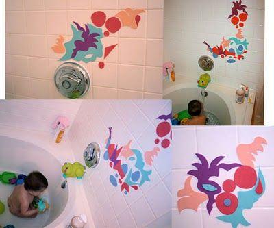 homemade bath toys: Bath Toys, Foam Bath, Bath Art, Eyed Freckle, Art Time, Bath Time