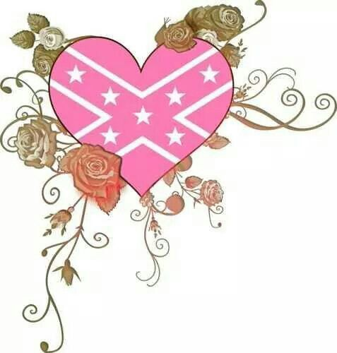 rebel flag heart coloring pages - photo#28