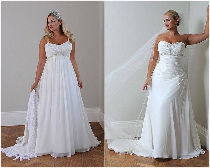 Plus Size Wedding Dresses - 2012 Picks for the Full Figure Bride