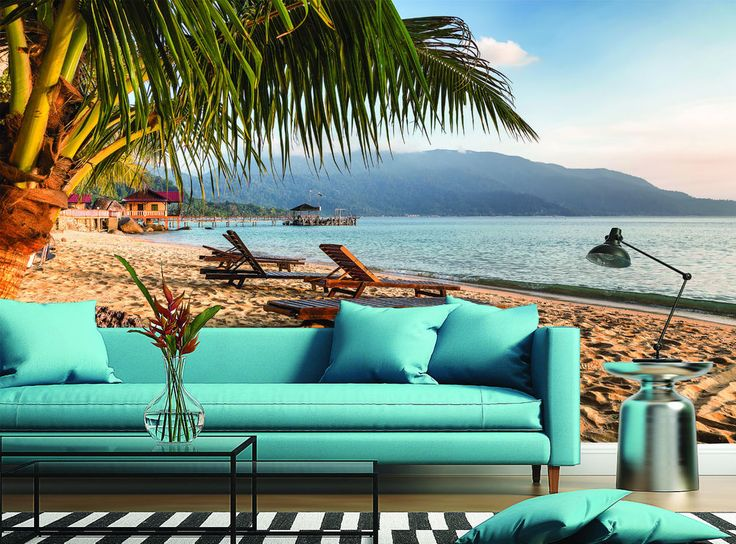 So nice way to relax... :) Pulau Tioman Beach Sand Malaysia Wall Mural Photo Wallpaper