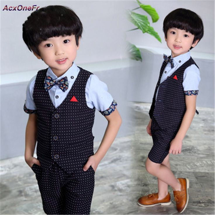 >> Click to Buy << 2017 Kid Plaid School Suits For Boy England Style Waistcoats Formal Wedding Blazer Mariage Baby Garcon Performance Party WM-066 #Affiliate