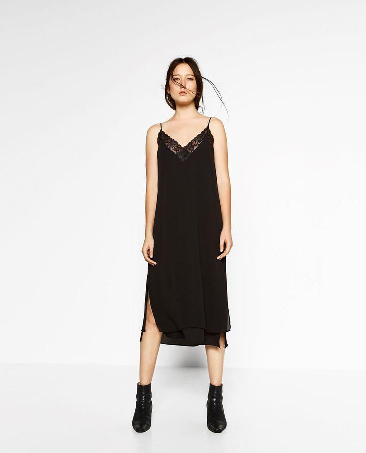 Image 1 de ROBE LONGUE TYPE NUISETTE de Zara