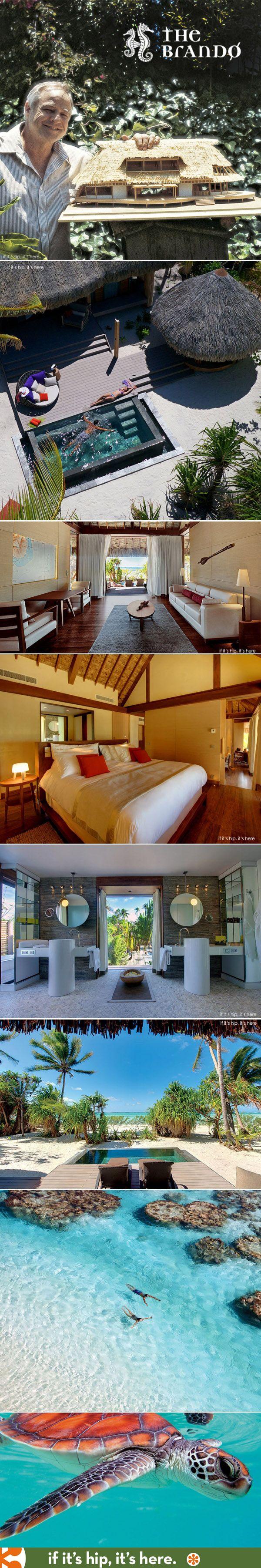 The Brando, Marlon's Eco-friendly Island Dream Resort, finally opens ten years after his death.