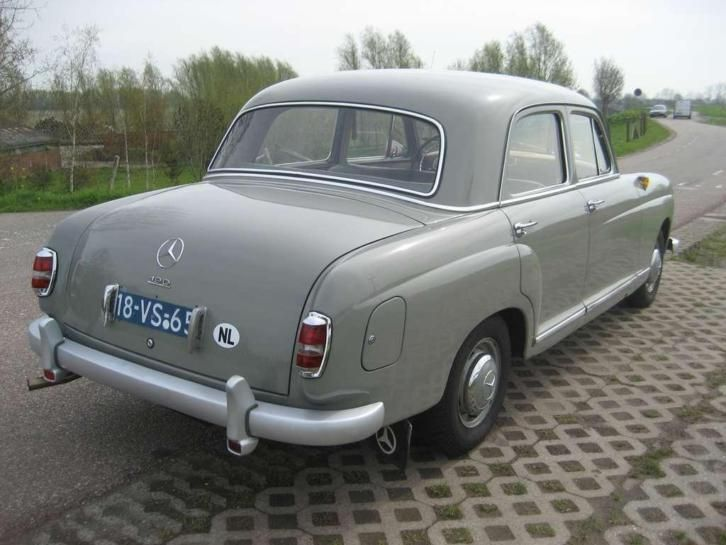 Mercedes benz 190 ponton w121 1956 mercedes benz 190 for Mercedes benz ponton