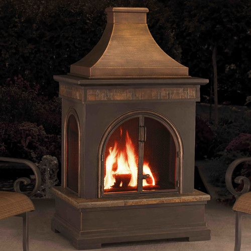 Hardy Slate Steel Wood Burning Outdoor Fireplace Fireplaces Outdoor Fireplaces And Slate