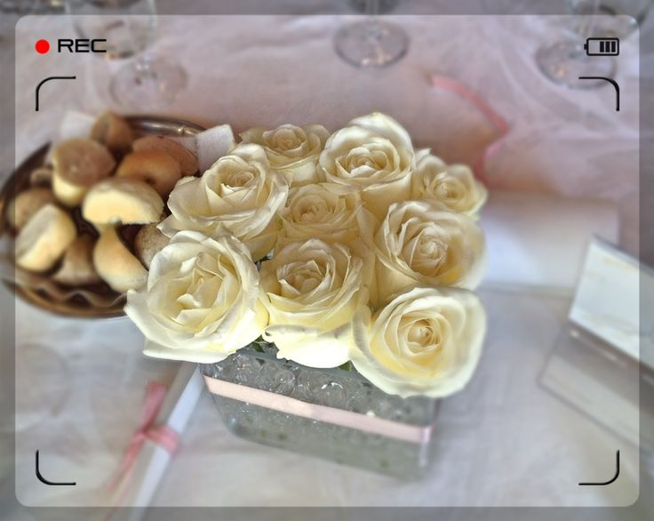 Allestimento romantico per un #matrimonio dalle tinte rosa e bianche - A romantic rose for a romantic #wedding