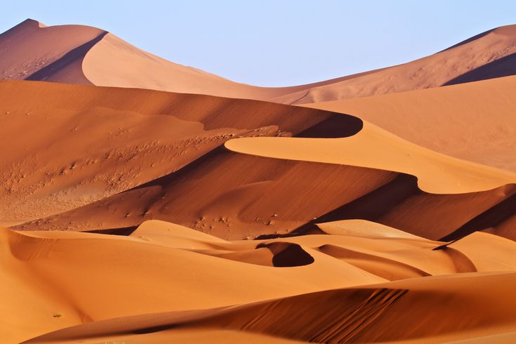 Namib Desert in Namibia Africa. Sometimes nature proves you simply don't need Photoshop