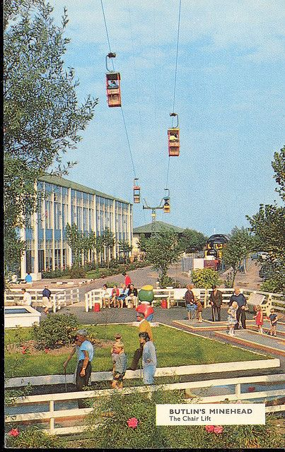 Butlins Minehead - The Chairlift by trainsandstuff, via Flickr
