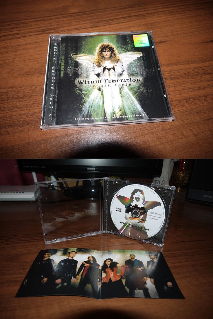 Within Temptation - Mother (jewel case) Russia 2003