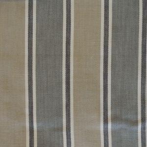 Rae Smoke 56%Cott/30%Visc/14%Lin 139cm (useable 137cm) Vertical Stripe Dual Purpose