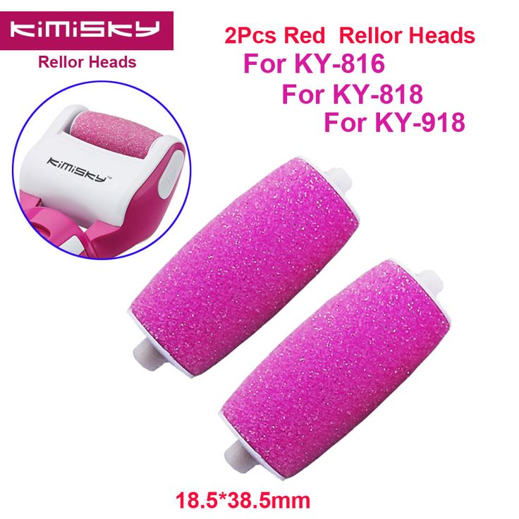 2016 RED Foot care tool roller Heads pedicure herramientas hard roller Heads for 2pcs KIMISKY KY-816/818 Free Shipping