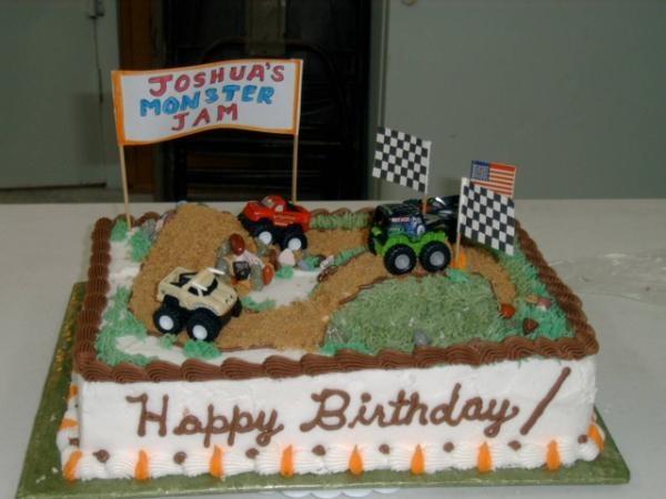 27 best Birthday Cakes images on Pinterest Monster trucks
