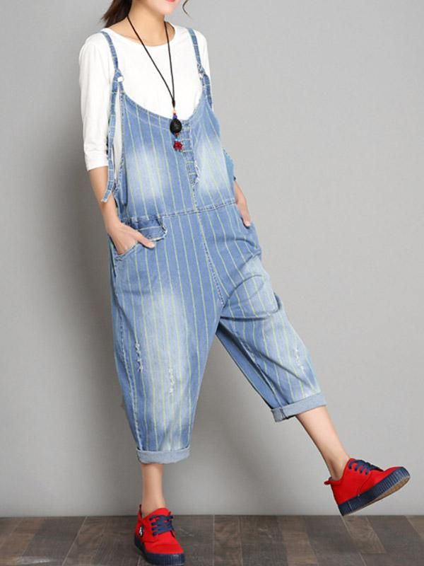 d1ffc4f6f8e82 Freedom stripe overall dungarees