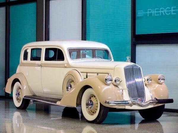1936 Pierce Arrow Deluxe 8 Touring Sedan