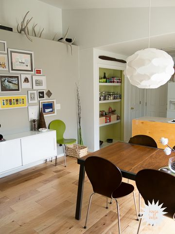 House Bellau0027s Modern Dining Room