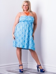 We have EXCLUSIVE plus size resort wear by Escapada! Style and sizes you'll find no-where else! www.lucyclothing.ca