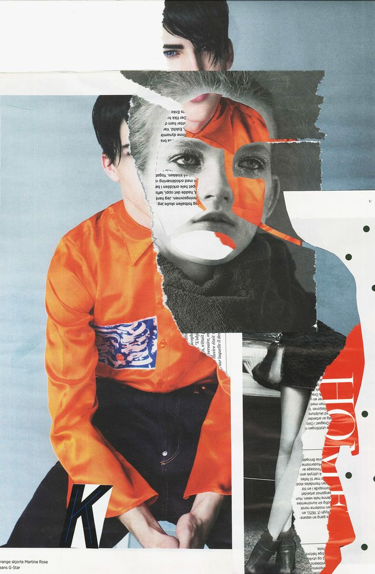 Collage Dropout : Magazine Collages by Rebecca Hawkes | Rebecca Hawkes Diary