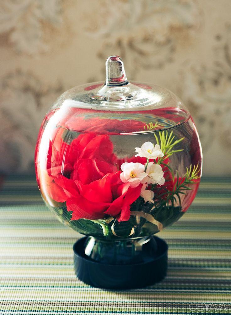 Крутая декоративная стеклянная ваза (герметичная ёмкость), Київ - дошка оголошень OBYAVA.ua