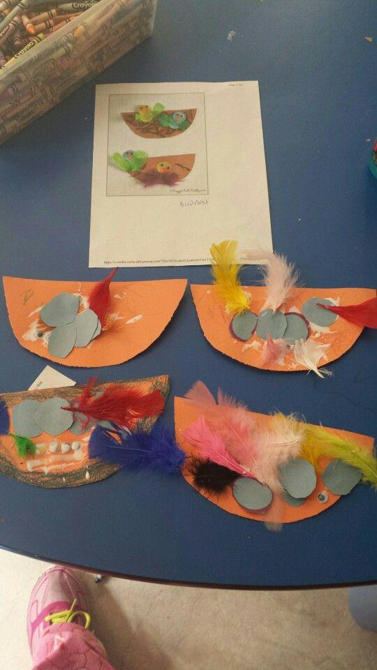Birds nests!! Springtime craft!!