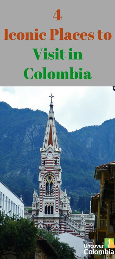 You have to see these cool places in Colombia!  Iglesia del Carmen, Bogotá DC: COLOMBIA