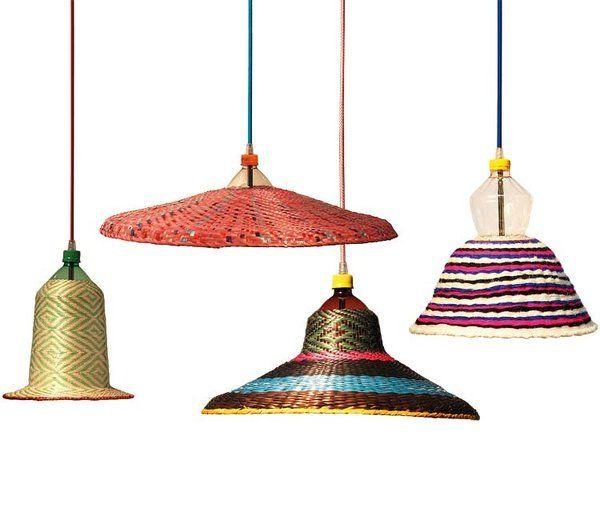 Lámparas artesanales de diseño único