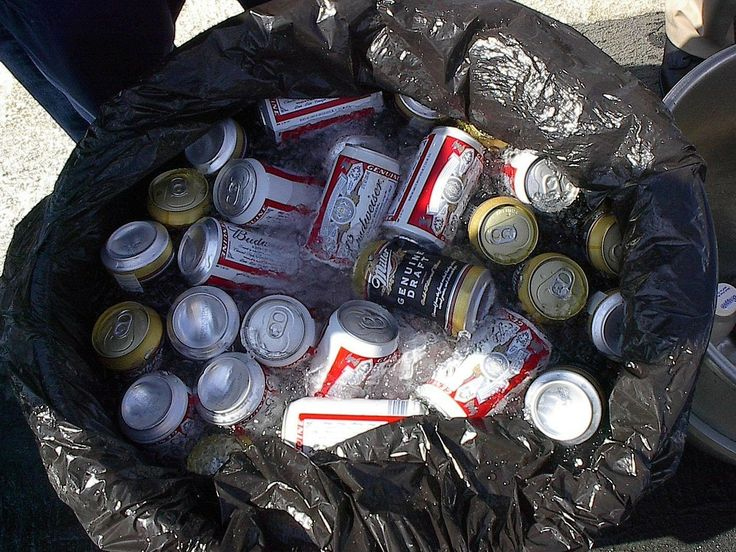 Ah, the trash can parties outside the barracks of Guam, Rota, Subic- hell, any barracks!