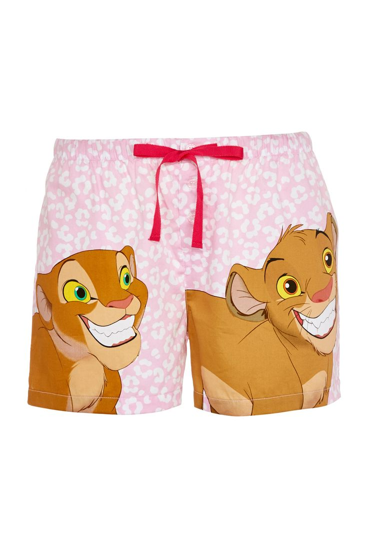 Lion King Simba & Nala Mid Short | Peter Alexander