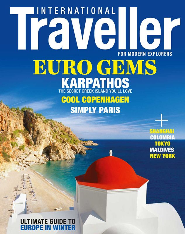 Issue 8 of International Traveller magazine is the European special issue