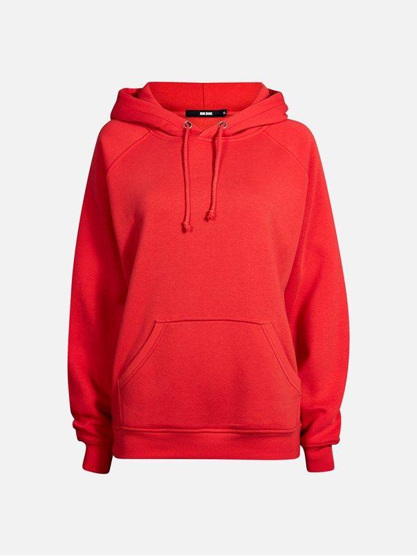 Alpha sweater | | Rød | BikBok | Norge  Str.xl