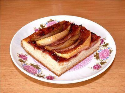 Фруктовый пирог - постный