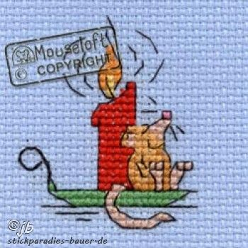 Mouseloft - Christmas - Contented Mouse                                                                                                                                                      More