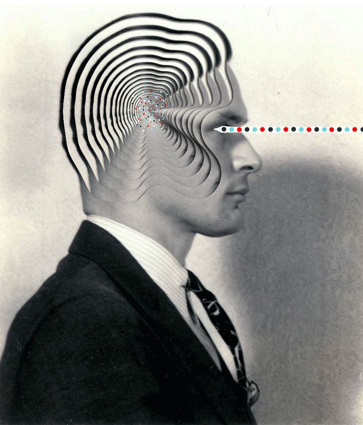 """asylum-art-2: """"  Collages and animated GIFs – The latest strange creations by Matthieu Bourel A selection of the latest creations by French artist Matthieu Bourel, who continues to use old images,..."""