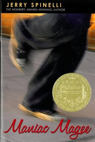 Maniac Magee by Jerry Spinelli. 1991 Winner