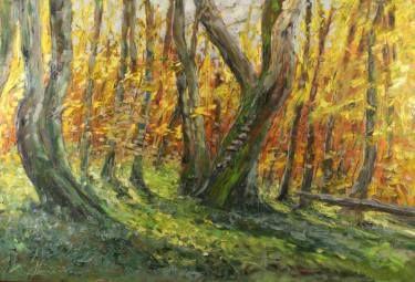 "Saatchi Art Artist Margaret Raven; Painting, ""1438"" #art"