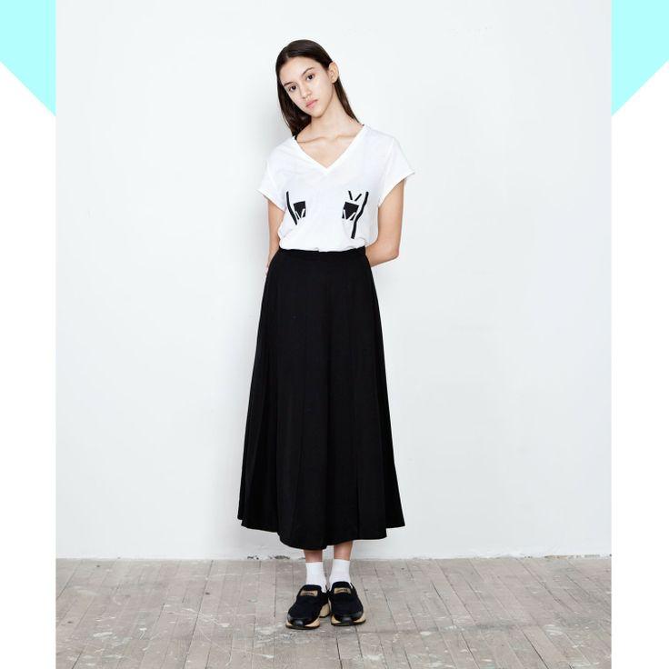 chanel flared maxi skirt - Vine Streets