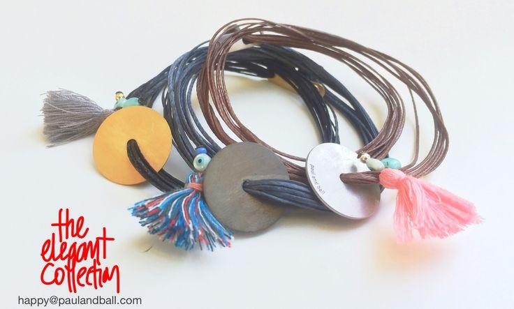 Sterling silver bracelets by paulandball