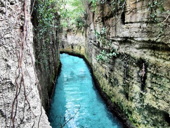 Mexico: Xcarat- river swim