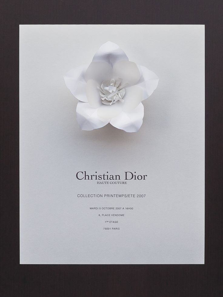 Dior show poster