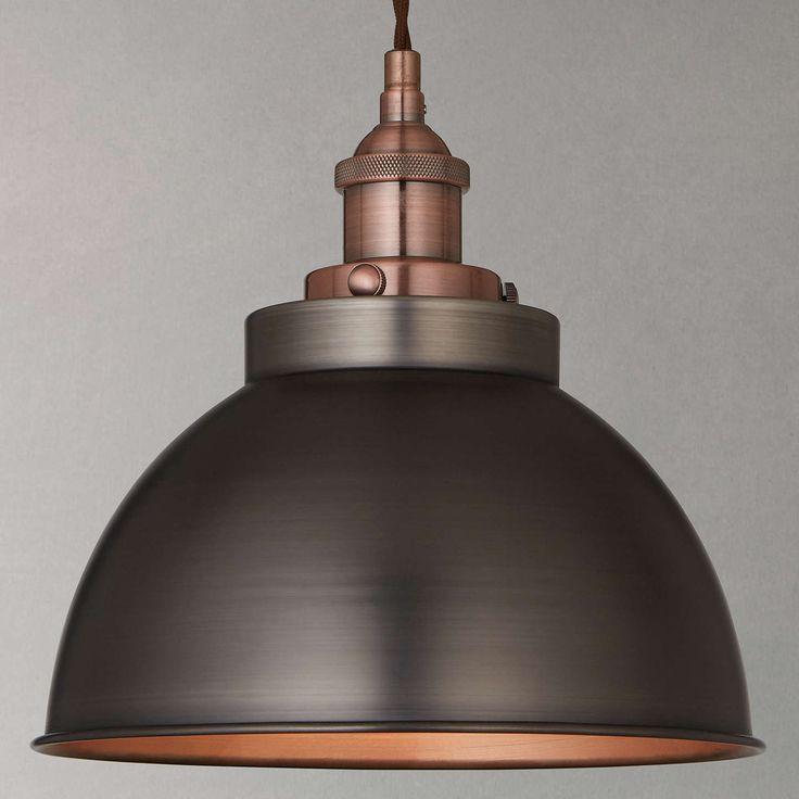 John Lewis & Partners Bolu Pendant Shade, Copper
