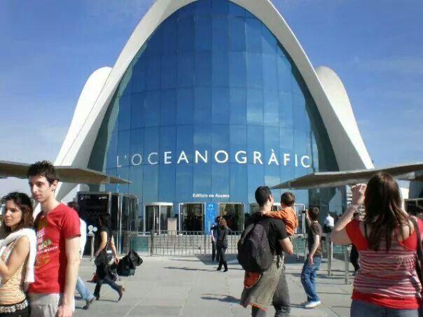 Oceanografico de Valencia, España