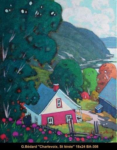 Original mixmedia painting on canevas by Gilles Bedard #GillesBedard #artist #art #mixmediapainting #artist #originalpainting #fineart #canadianartist #quebecartist  #landscape #shadows #light #Charlevoix #multiart #balcondart
