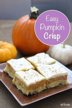 Pumpkin crisp recipe yellow cake