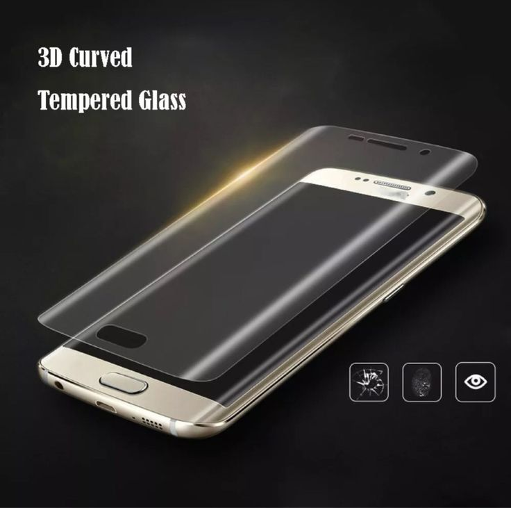 (54) Mica Cristal Templado Galaxy S6 Edge Plus Gorila Glass Curvo - $ 289.99 en MercadoLibre