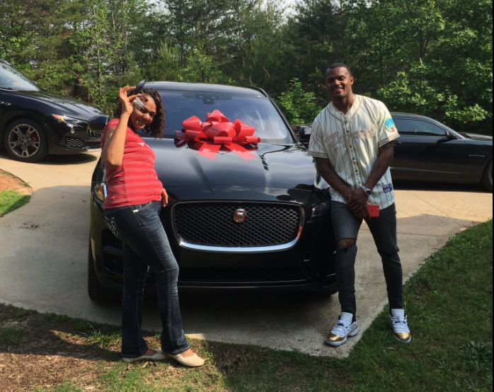 Deshaun Watson has only been a member of the Texans for two days, but he's already made his first big purchase.