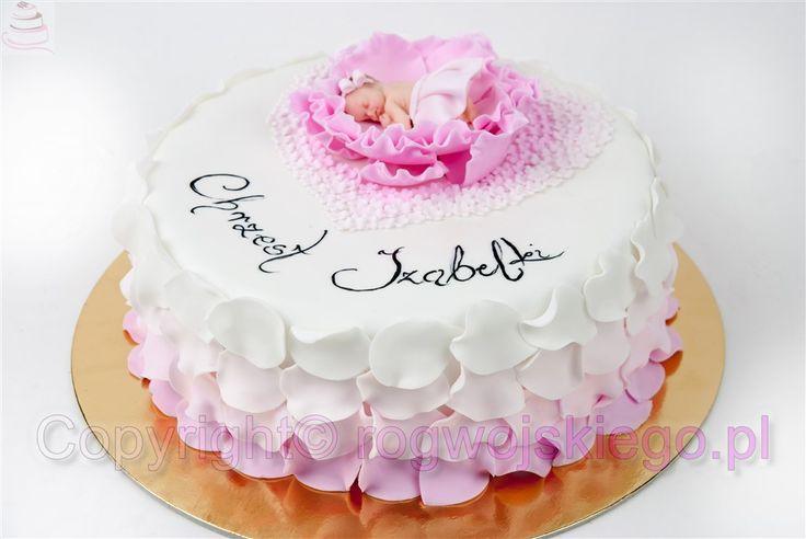 tort na chrzciny dla dziewczynki, torty na chrzest, gdańsk, pomorskie, trójmiasto  http://rogwojskiego.pl