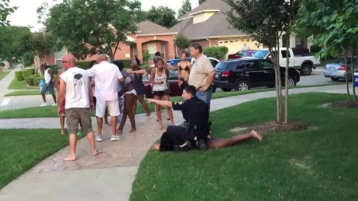 Cop Filmed Wrestling a Young Teenage Girl To the Ground Before Pulling His Gun on Unarmed Teens