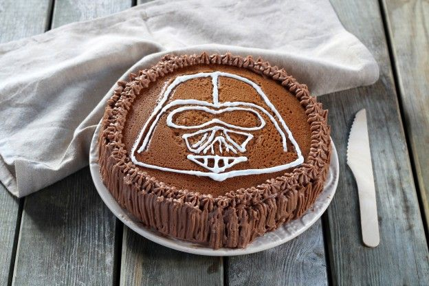 STAR WARS : LE gateau DARK VADOR pour épater la galerie ! - 19 photos