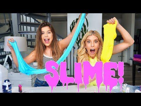 MAKING SLIME | SOPHIA GRACE & REBECCA ZAMOLO - Testing Instagram SLIME - YouTube